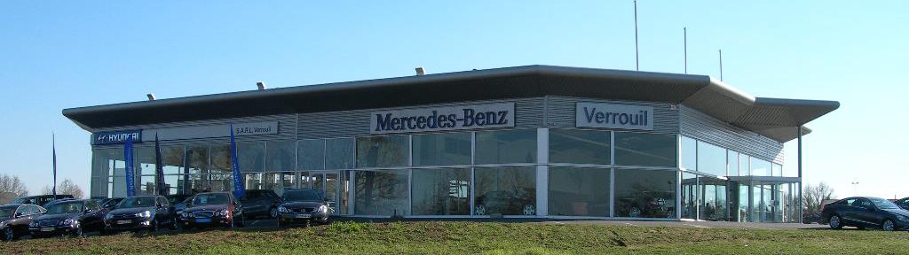 Pr sentation de la soci t automobiles mercedes benz verrouil - Garage mercedes bergerac ...