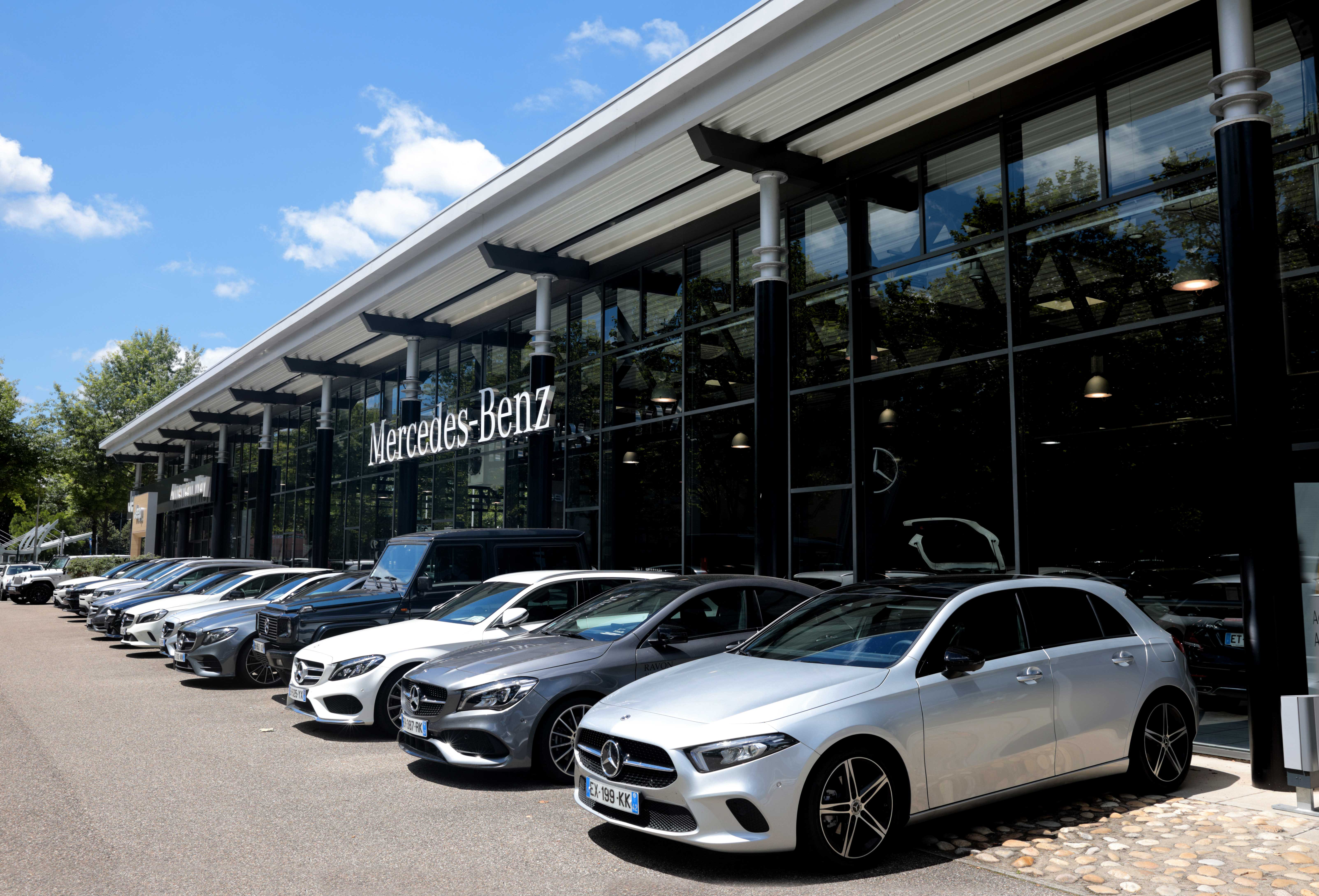 Volkswagen occasion saint etienne mercedes et smart saint etienne ravon automobile - Garage mercedes saint etienne ...