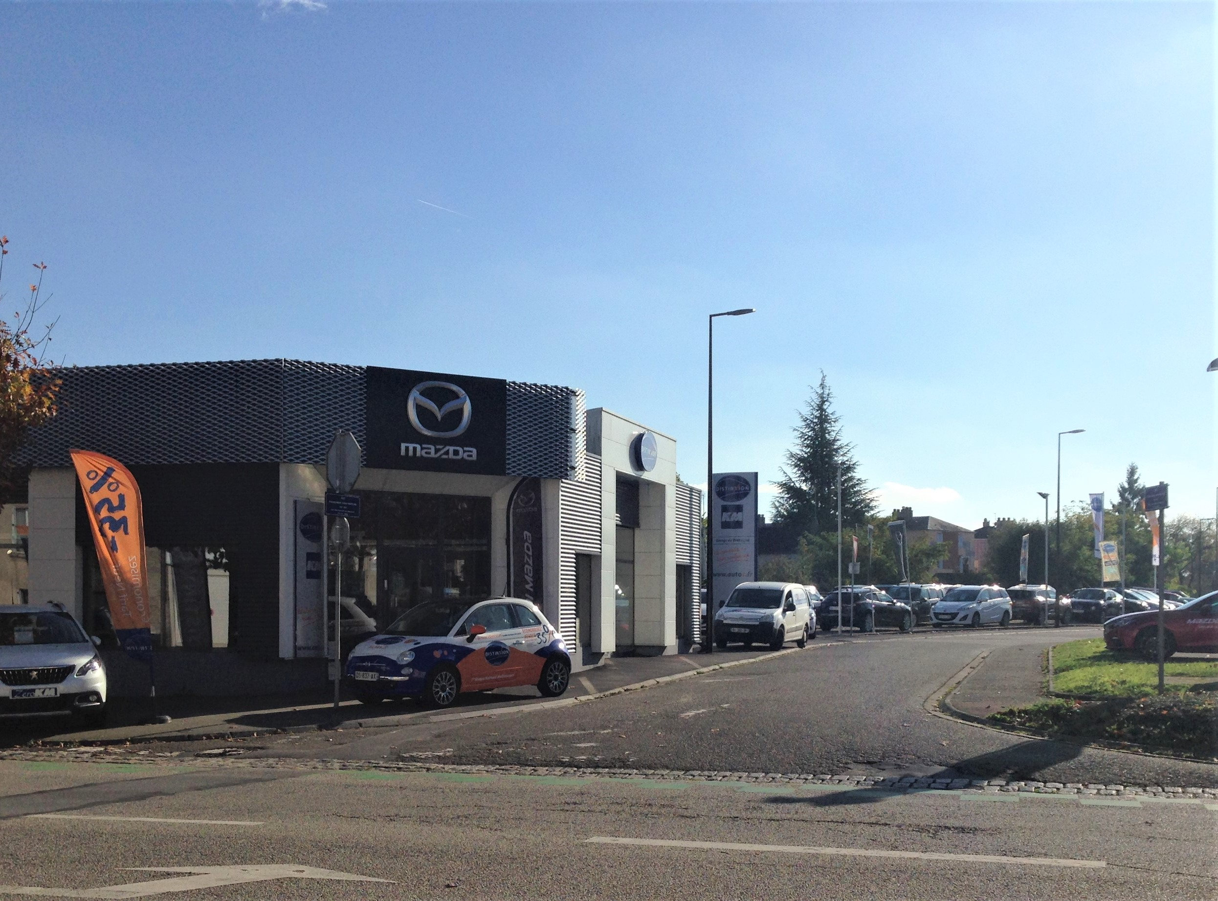 distinxion garage de bretagne concessionnaire mazda