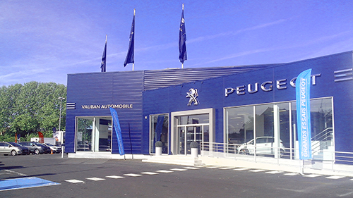 pr sentation de la soci t peugeot vauban automobile argenteuil. Black Bedroom Furniture Sets. Home Design Ideas