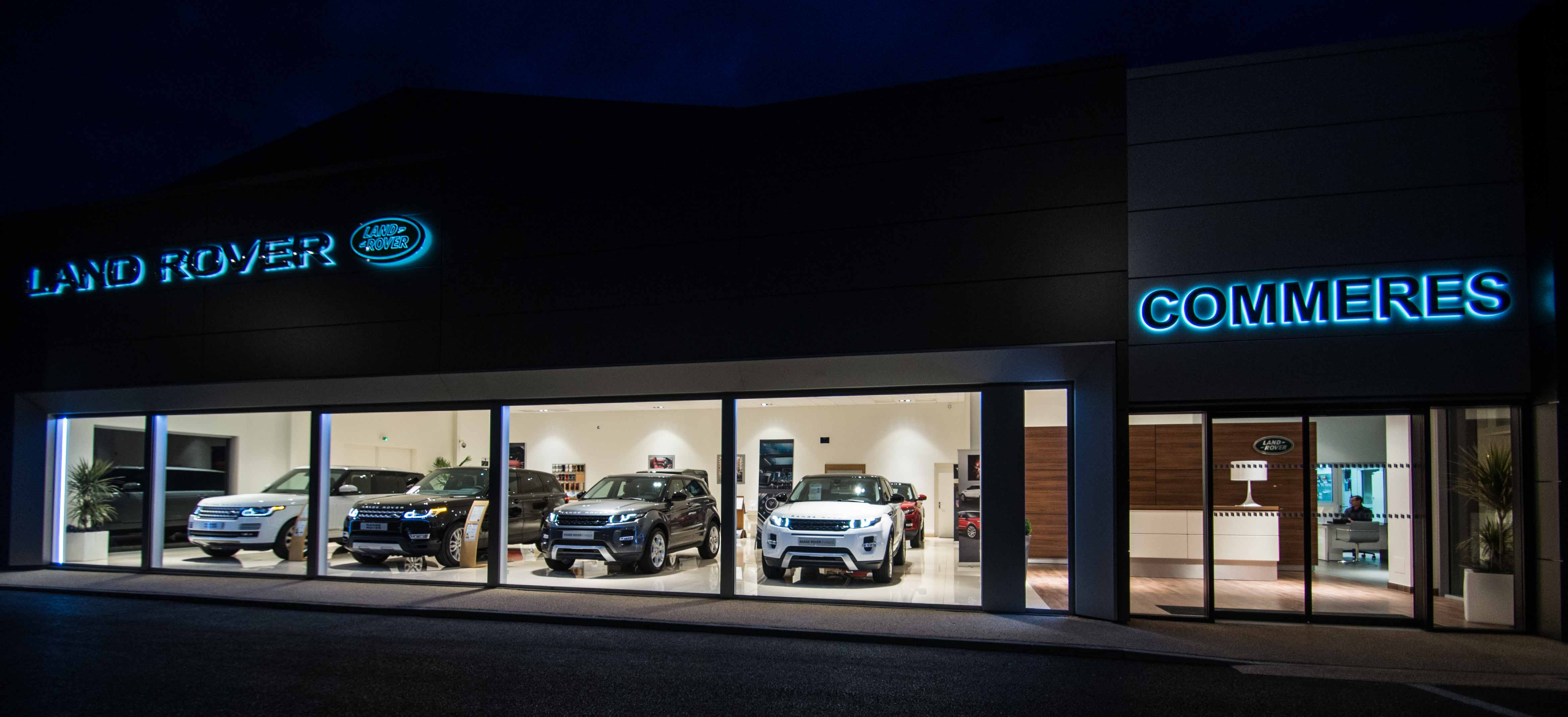 pr sentation de la soci t jaguar land rover tarbes commeres sas. Black Bedroom Furniture Sets. Home Design Ideas