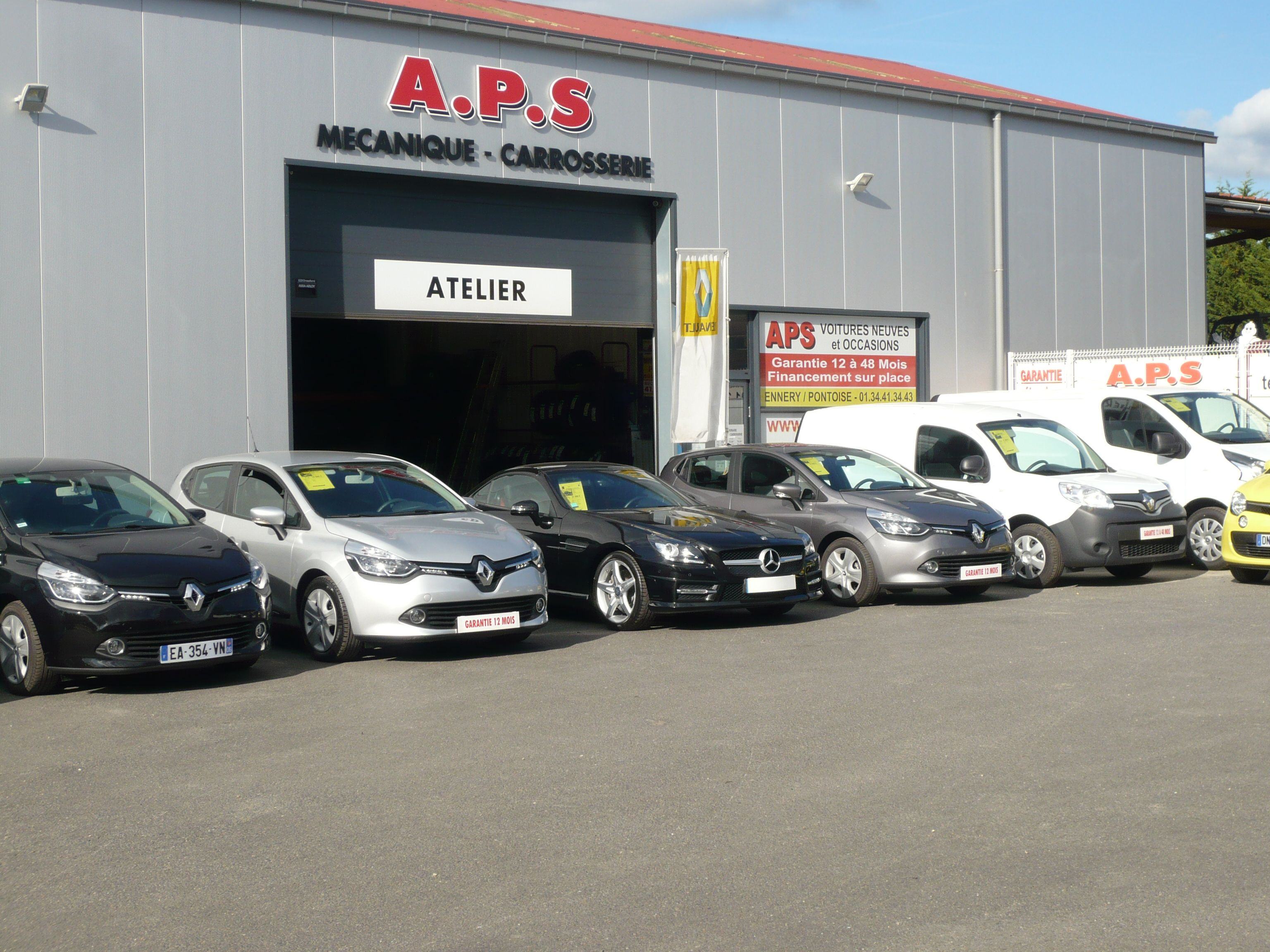 Aps voiture occasion ennery vente auto ennery for Garage auto fab ennery