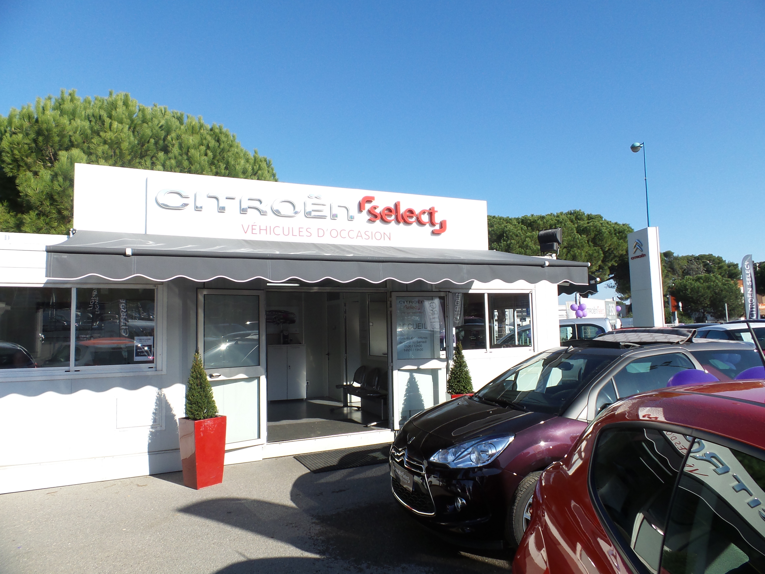 Pr sentation de la soci t citroen antibes for Citroen antibes garage