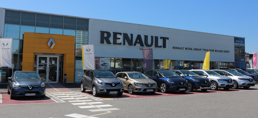 renault retail group toulouse rocade ouest concessionnaire renault toulouse auto occasion. Black Bedroom Furniture Sets. Home Design Ideas