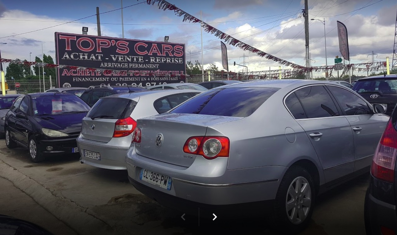 Tops cars voiture occasion sarcelles vente auto sarcelles for Garage auto sarcelles