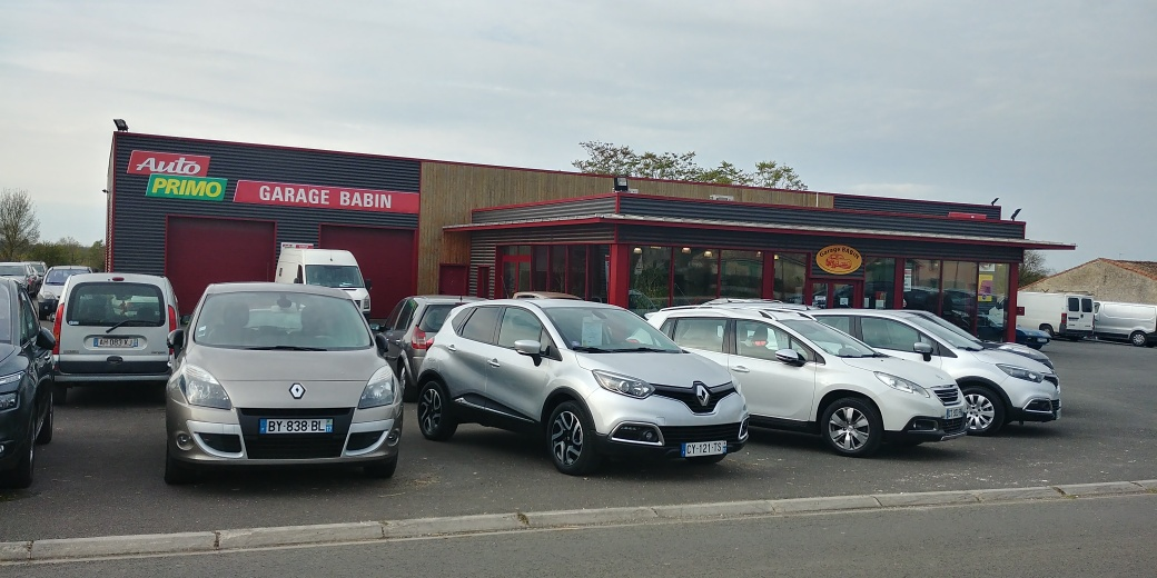 Garage babin voiture occasion bouin vente auto bouin for Garage pour utilitaire