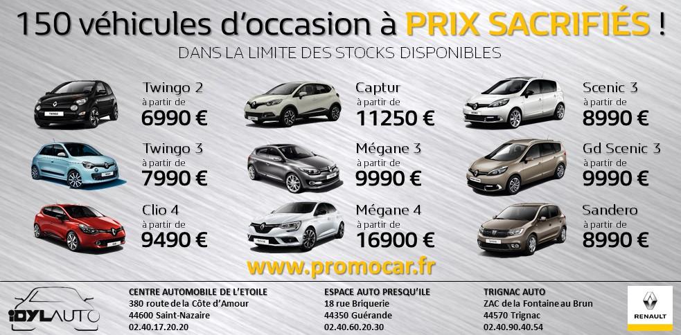 Centre automobile de l 39 etoile concessionnaire renault st nazaire auto occasion st nazaire - Garage renault saint nazaire 44600 ...