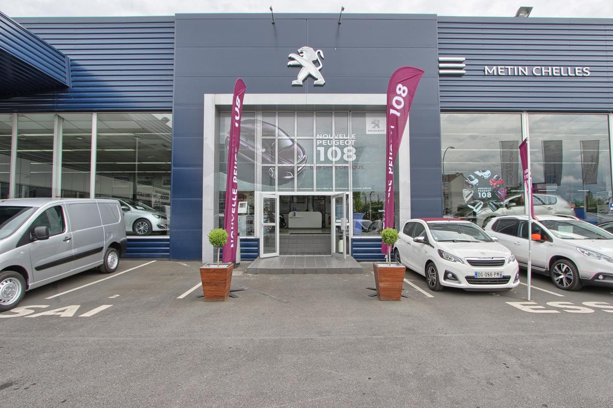 Peugeot metin chelles concessionnaire peugeot chelles for Garage peugeot chelles 77500