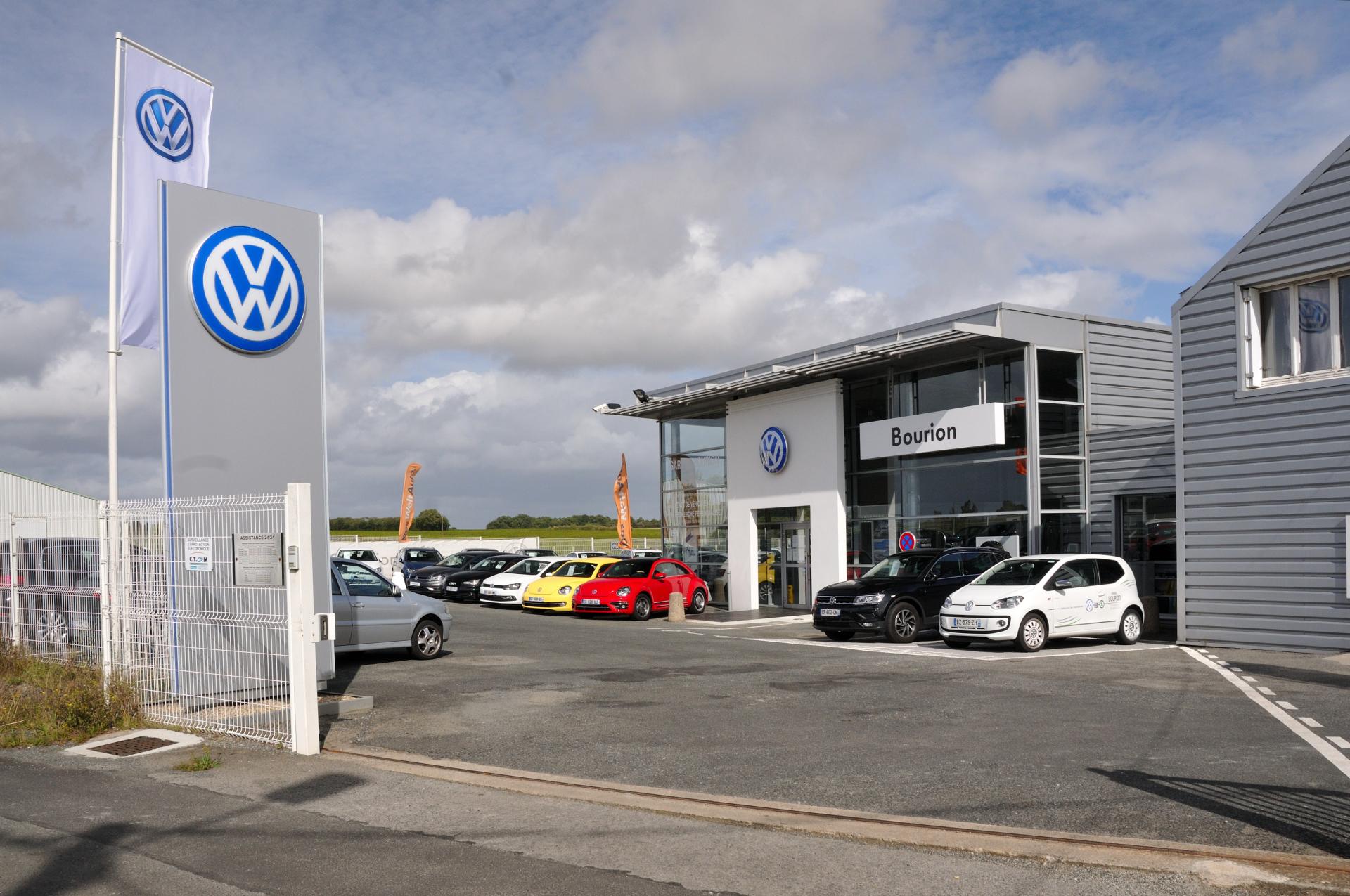 Garage bourion concessionnaire volkswagen le landreau auto occasion le landreau - Garage volkswagen nice la plaine ...