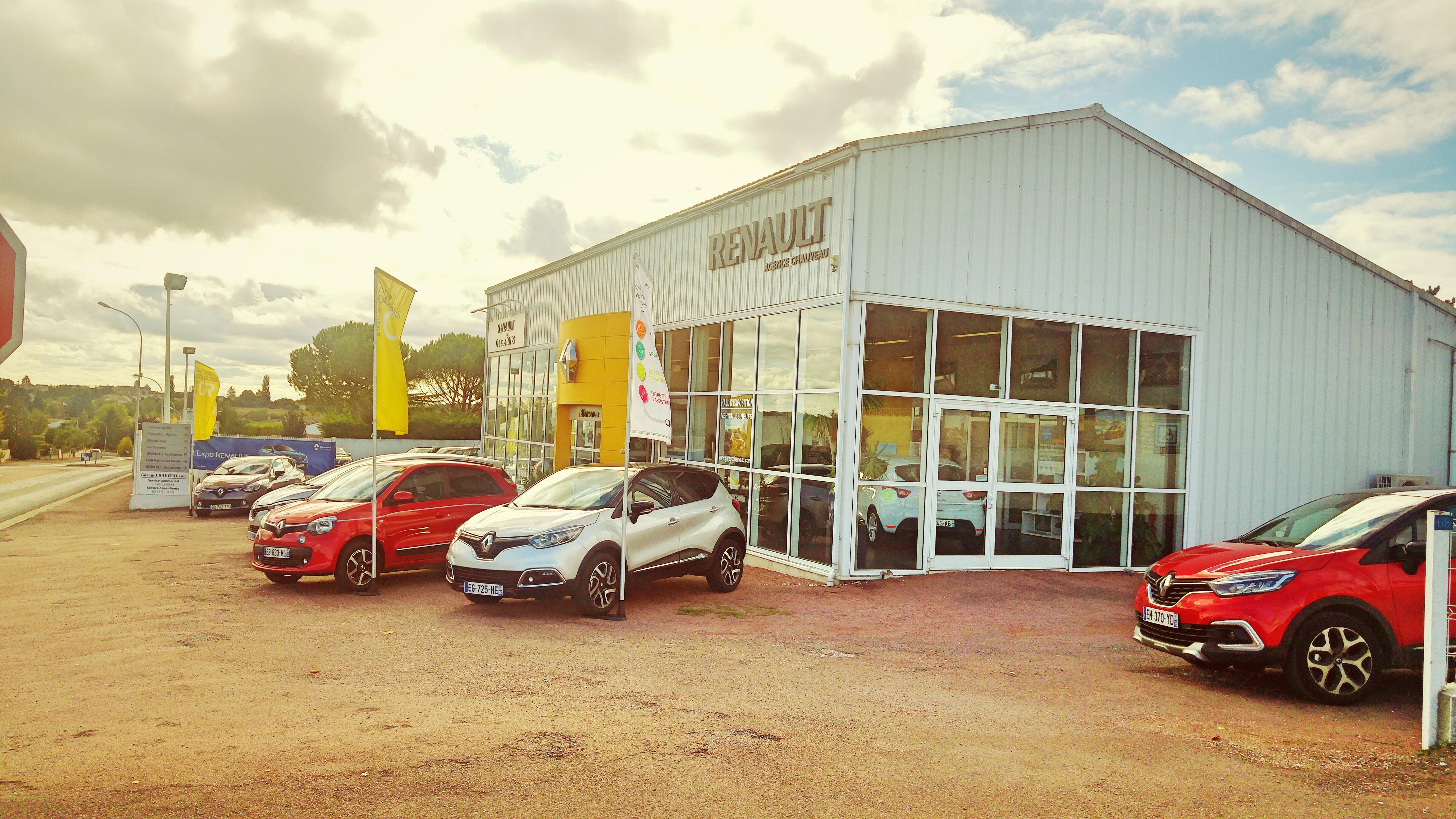 Garage chauveau renault voiture occasion fleac vente for Garage renault orleans occasion