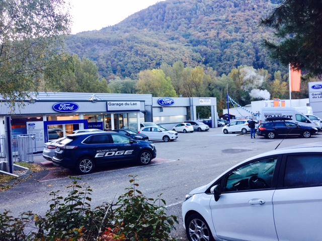 Pr sentation de la soci t garage du lac ford albertville for Ford annecy garage du lac
