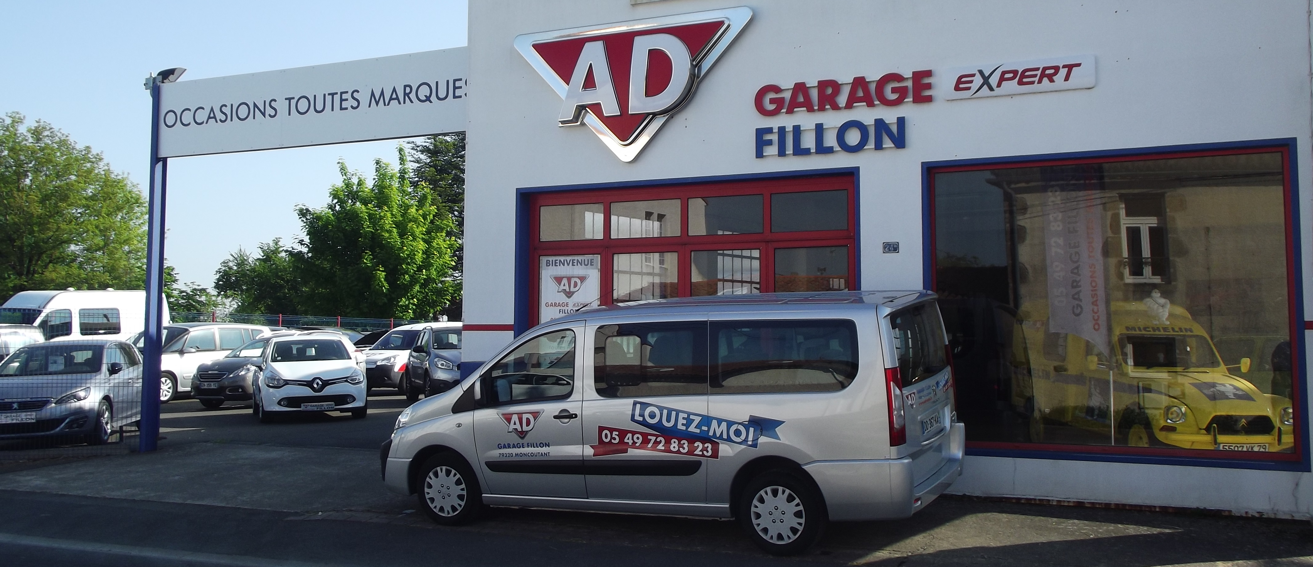 Garage fillon voiture occasion moncoutant vente auto for Garage vente voiture occasion gironde