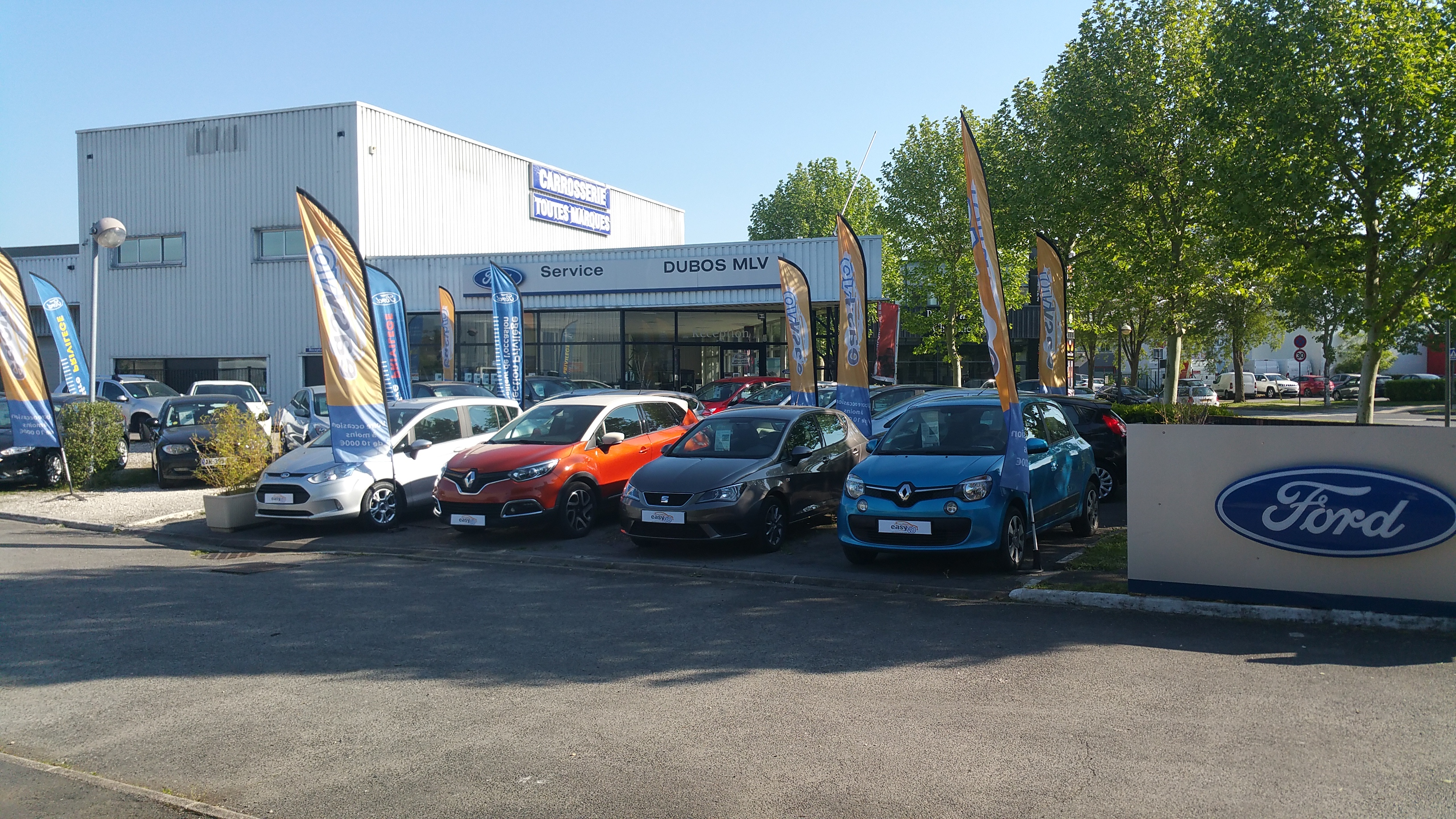 Ford dubos mlv voiture occasion saint thibault des for Garage volkswagen saint thibault des vignes