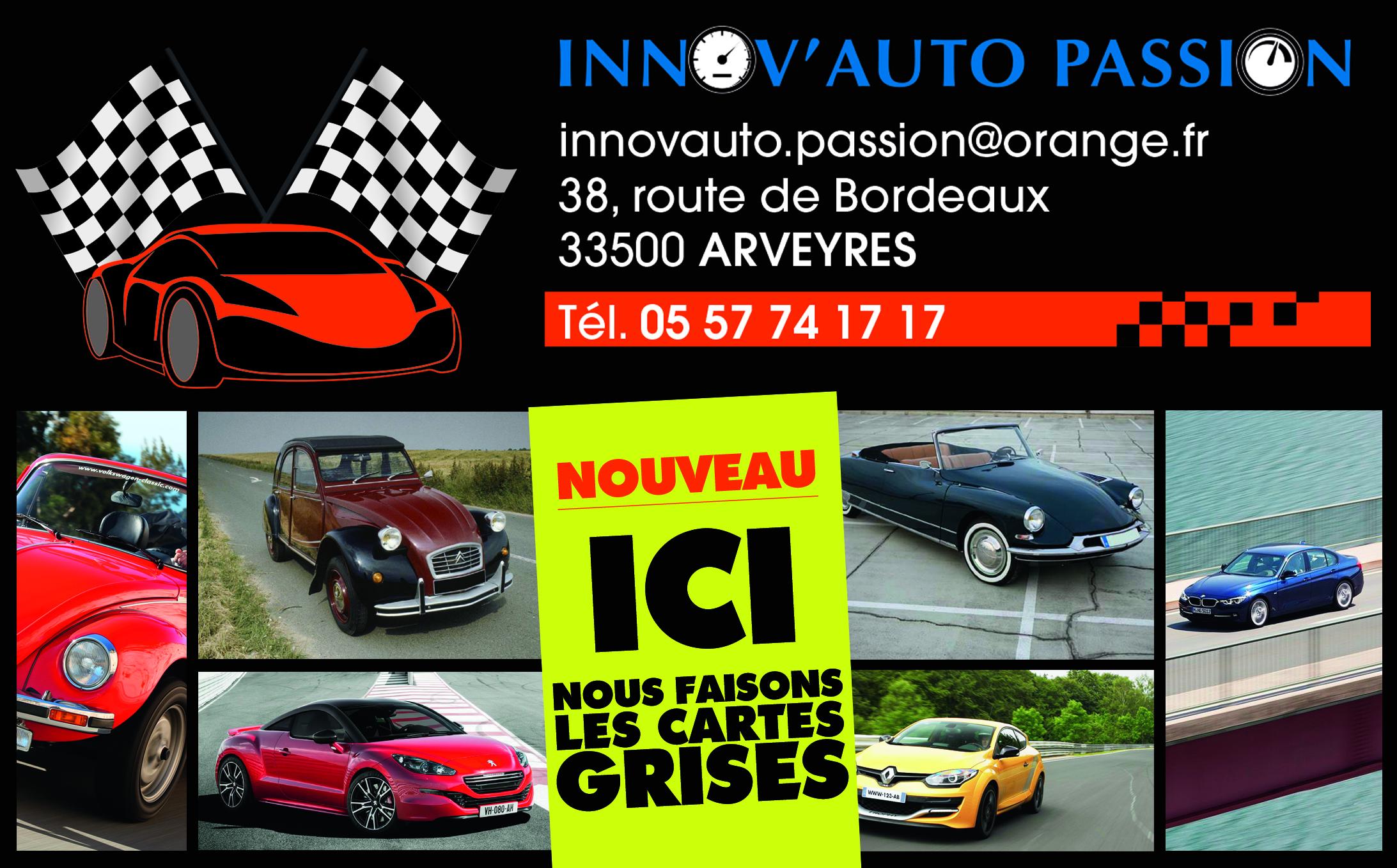 Nos services - INNOV\'AUTO PASSION
