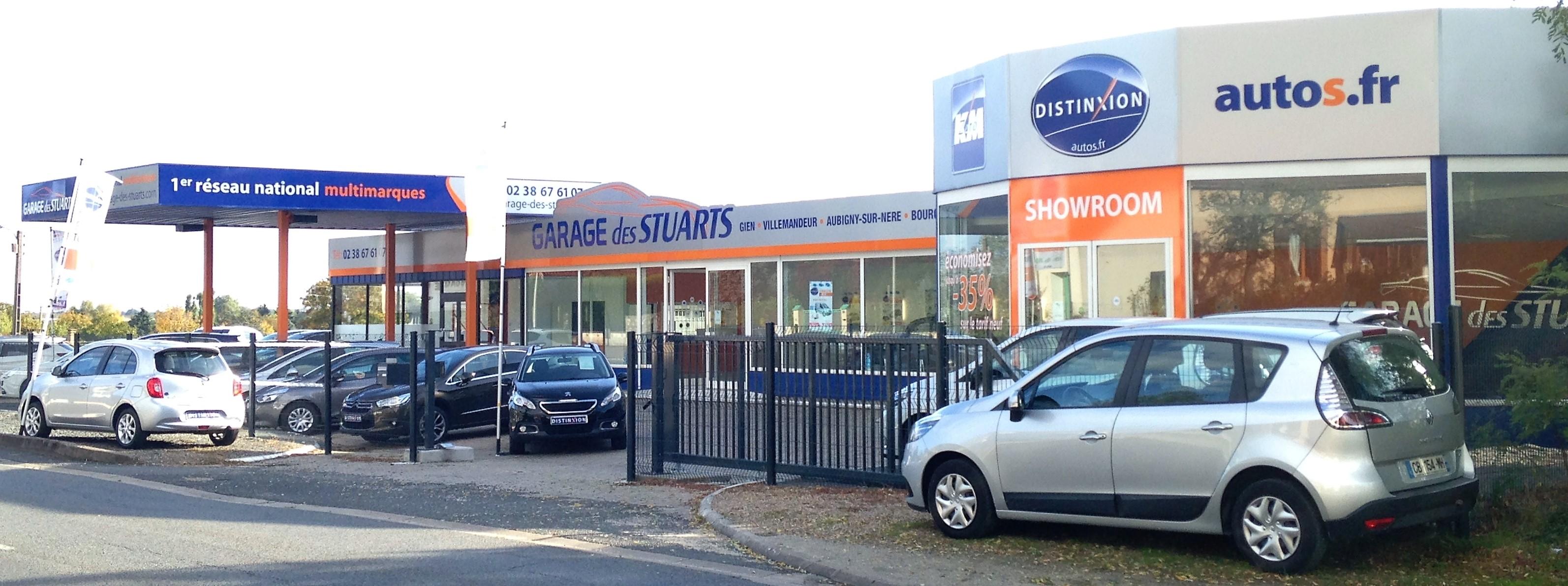 Présentation de la société - GARAGE DES STUARTS RESEAU DISTINXION GIEN