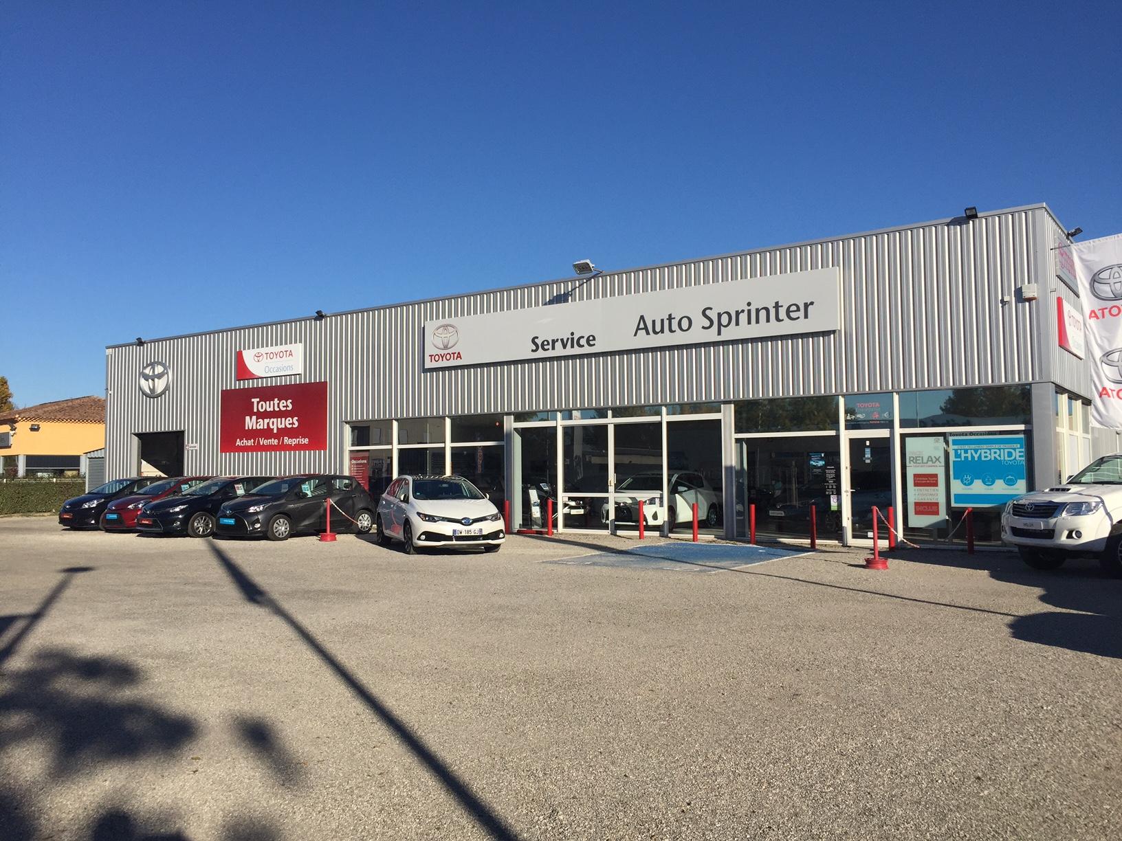 Toyota autosprinter pertuis concessionnaire toyota for Garage pertuis occasion