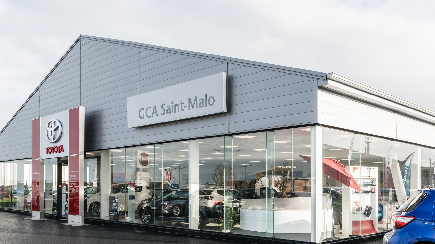 gca st malo concessionnaire toyota saint malo auto occasion saint malo. Black Bedroom Furniture Sets. Home Design Ideas